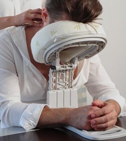 têtière de massage